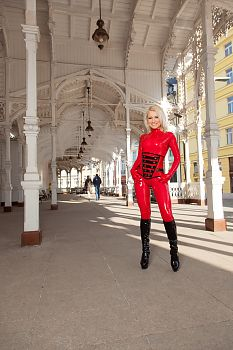 Karlovy Vary Latex Girl