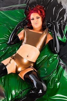 Latex Lingerie Latex and Oil Overload