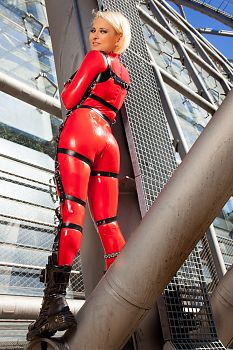 Sexy Ass Latex and Steel Design