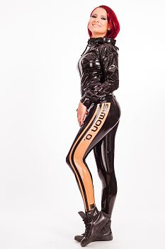 Latex Leggings Simon O Fashion Shooting