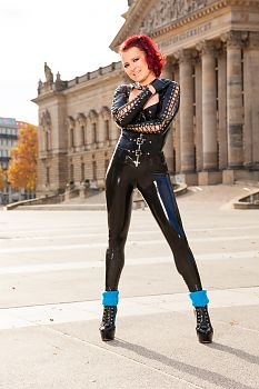 SlinkyStylez Tight Latex Pants