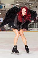 Черный Лебедь на льду