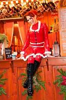 Chica sexy de Navidad