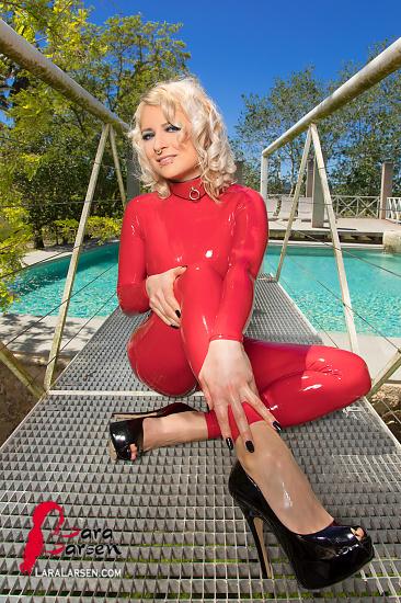 Glänzend Rote Queen