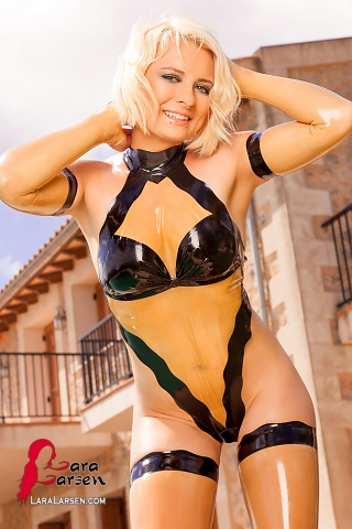 Latex Swimsuit