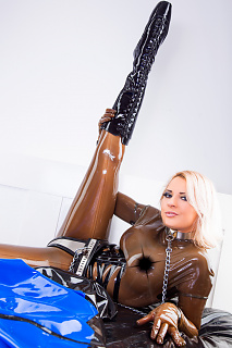 Naughty in Chastity Belt