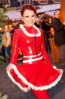 Sexy Weihnachtsfrau