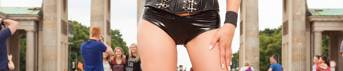Latex Hot Pants