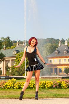 Pilnitz Castle in Latex